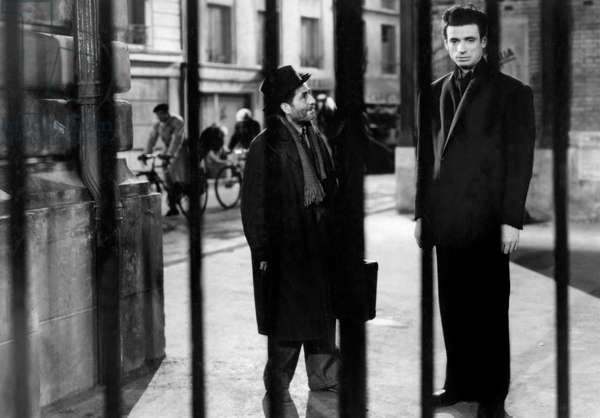 Julien Carette And Yves Montand
