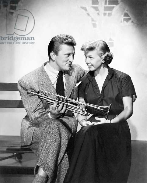 Kirk Douglas And Doris Day, Young Man With A Horn 1950 Directed By Michael Curtiz