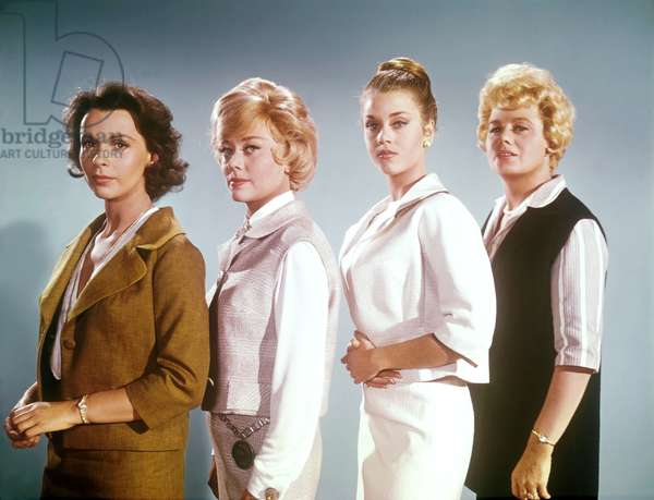 Claire Bloom, Glynis Johns, Jane Fonda and Shelley Winters - The Chapman Report - Les liaisons coupables 1962 directed by George Cukor (photo);Warner Bros. Pictures