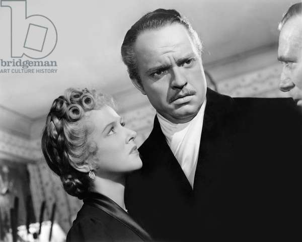 Dorothy Comingore And Orson Welles, Citizen Kane 1941 Directed By Orson Wells