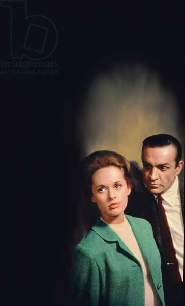 Tippi Hedren And Sean Connery