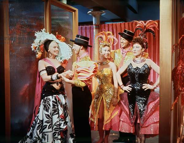 Marilyn Monroe, Donald O'Connor, Mitzi Gaynor, Dan Dailey And Ethel Merman, There'S No Business Like Show Business 1954 Directed By Walter L