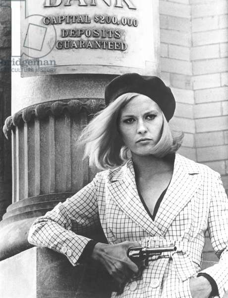 Faye Dunaway As Bonnie Parker, Bonnie And Clyde 1967 Directed By Arthur Penn
