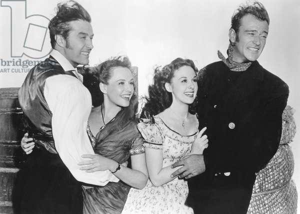 Reap the Wild Wind - Les naufrageurs des mers du sud 1942 directed by Cecil B. DeMille (photo); Ray Milland; Susan Hayward; Paulette Goddard; John Wayne