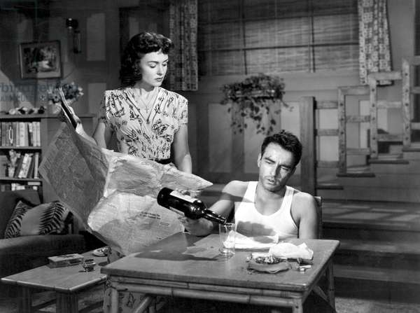 Donna Reed And Montgomery Clift