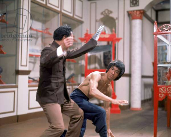 Operation dragon ENTER THE DRAGON by Robert Clouse with Kien Shih, Bruce Lee, 1973 (photo)