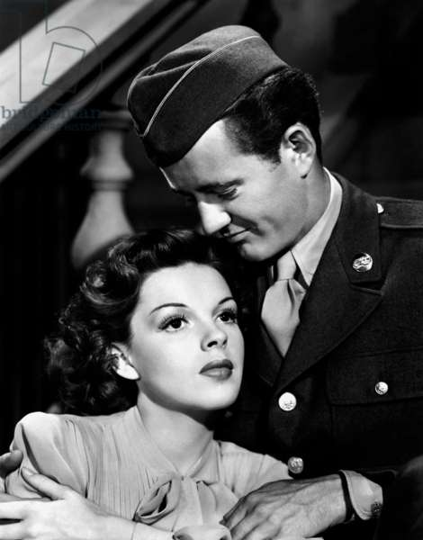 Judy Garland And Robert Walker, The Clock 1945 Directed By Vincente Minnelli
