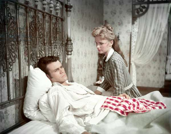TheseThousand Hills - Duel dans la boue 1959 directed by Richard Fleischer (photo); Twentieth Century Fox Film Corporation; Don Murray; Lee Remick