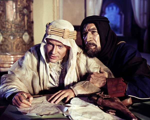 Peter O'Toole And Anthony Quinn