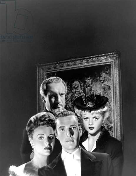 Donna Reed, George Sanders, Hurd Hatfield And Angela Lansbury.