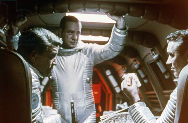 William Sylvester (Right), 2001 A Space Odyssey 1968 Directed By Stanley Kubrick