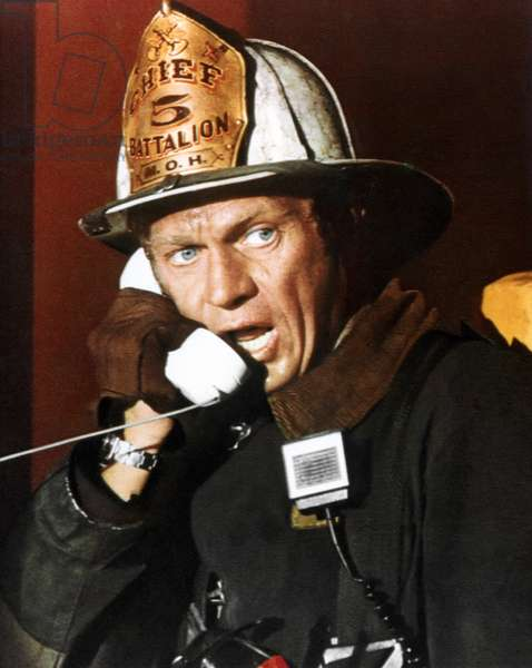 Steve Mcqueen, The Towering Inferno 1974 Directed By John Guillermin