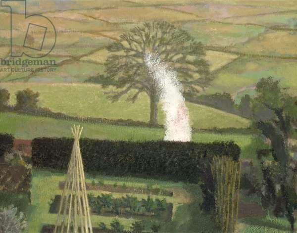 Garden Bonfire and Landscape, 1992-95