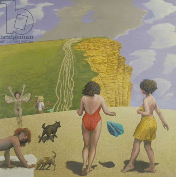 West Bay II, 1996-98 (oil on canvas)