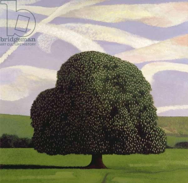 Chestnut Tree, 1994 (oil on canvas)