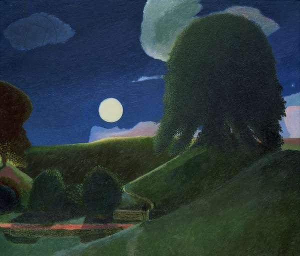 Moon and Alf at Avebury, 1975