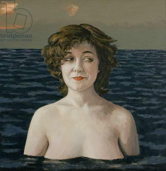Buoyant I, 2003 (oil on canvas)