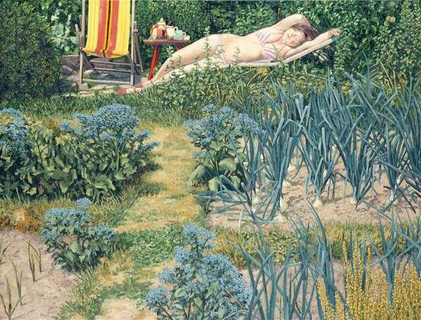 Figure in the Garden, 1989