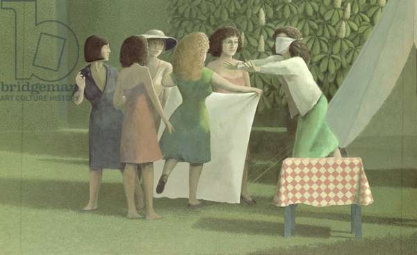 The Garden or The Game of Blind Man's Buff, 1982-84 (detail)