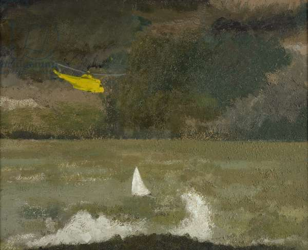 The Rescue, 1990-99 (oil on canvas)