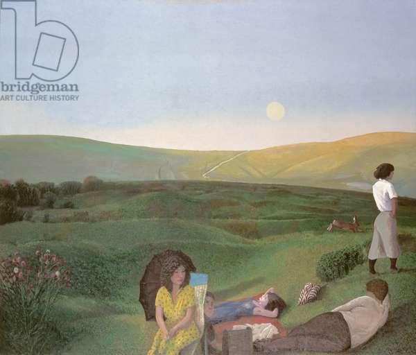 Wiltshire landscape, 1984-85