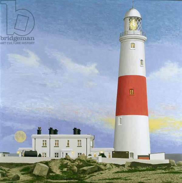 Lighthouse (oil on canvas)