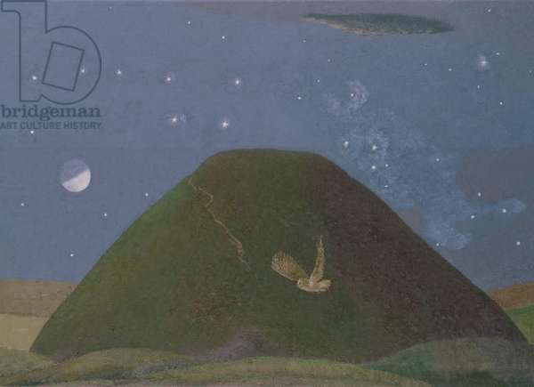 Silbury Hill on a Starry Night, 1986