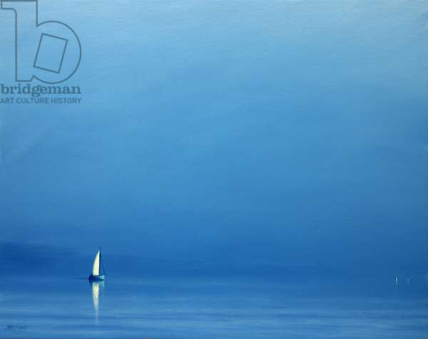 Summer Haze (oil on canvas)