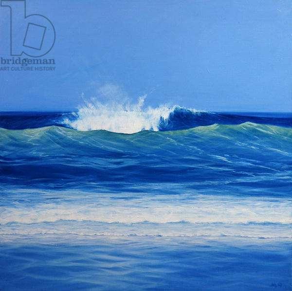 High Wave (oil on canvas)