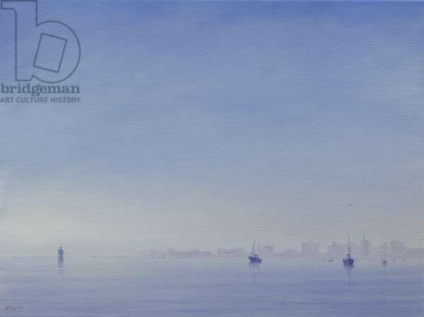 Mumbai Harbour (oil on canva)