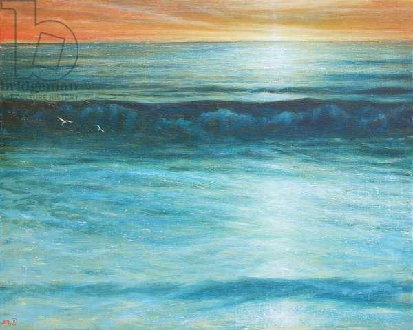 Waves Off Chesil Beach