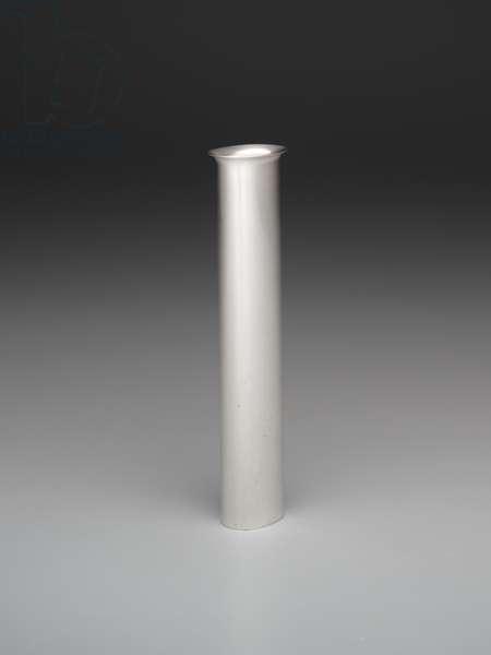 """Plank"" vase, 1989 (silverplate)"