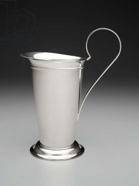 Pitcher, introduced 1985 (silverplate)