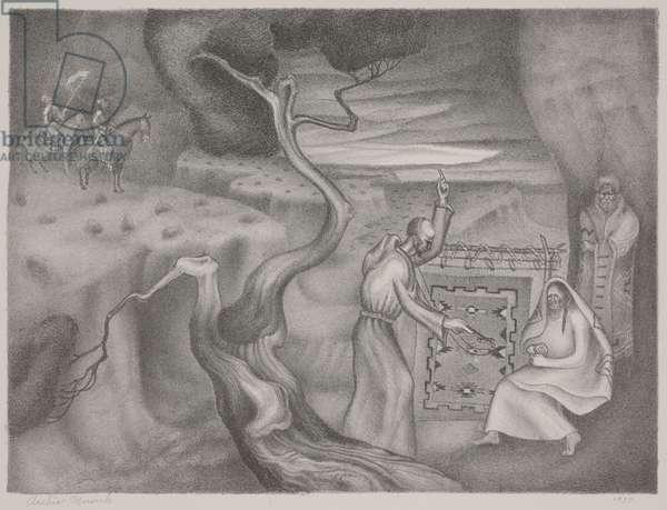 Franciscan, 1937 (litho)