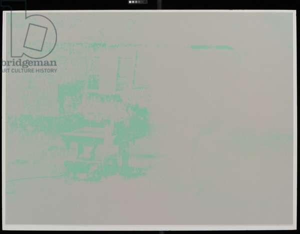 Electric Chair (Portfolio), 1971 (silkscreen)