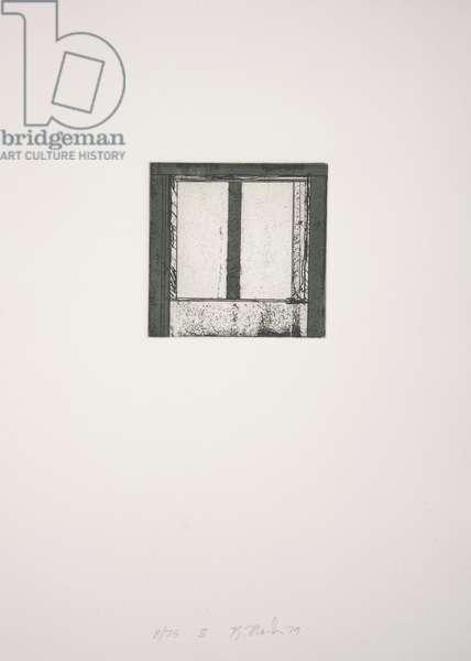Focus II, 1979-1980 (etching, aquatint)