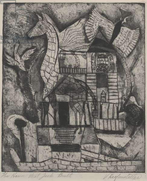 The House That Jack Built, before 1947 (etching)