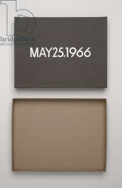 May 25, 1966 (liquitex on canvas)
