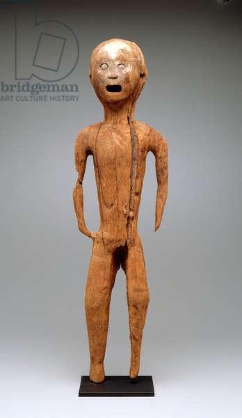 Funerary figure (tau-tau), 19th century or earlier (wood)