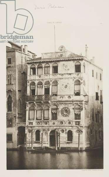 Dario Palace, 1891 (photogravure)