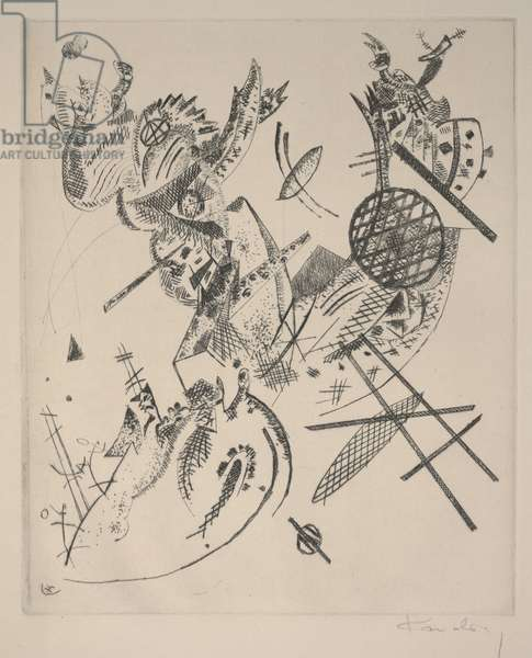 Small Worlds XII (Kleine Welten XII), 1922 (etching & drypoint)
