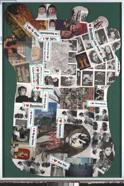 Untitled, 1993 (collage)