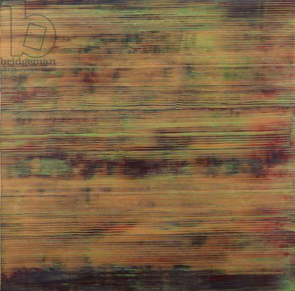Slip Zone, 1971 (acrylic on canvas)
