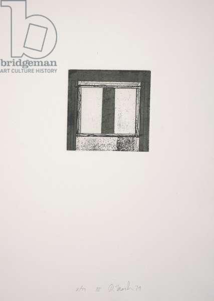 Focus III, 1979-1980 (etching, aquatint)