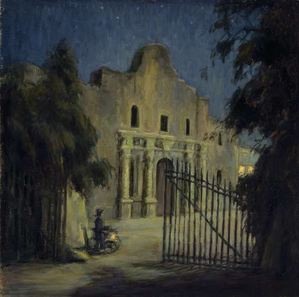 The Alamo, early 1930s (oil on canvas)