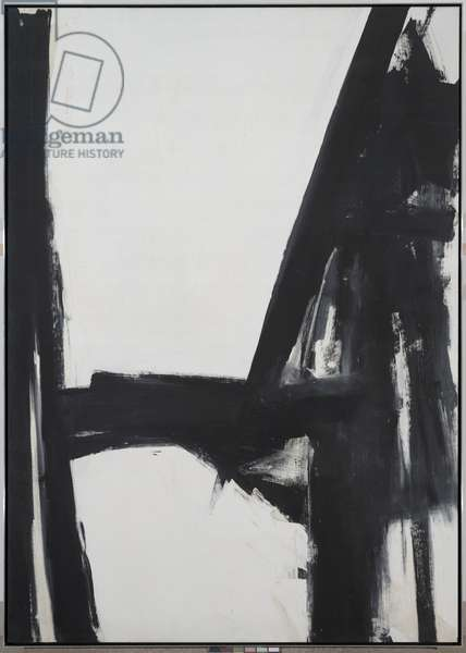 Slate Cross, 1961 (oil on canvas)