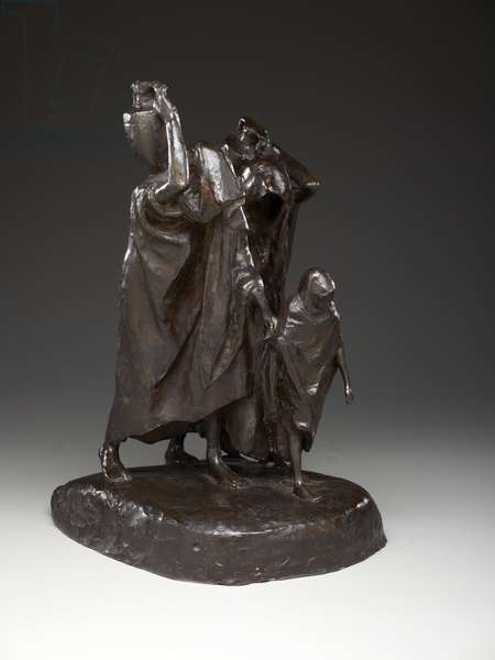The Blind Water Carriers, 1906 (bronze)