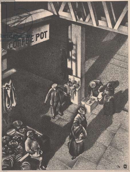 The Coffee Pot, 1934 (lithograph)