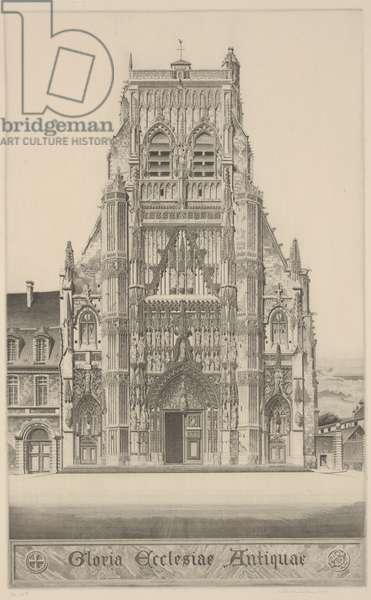 Gloria Ecclesiae Antiquae, 1937 (etching)