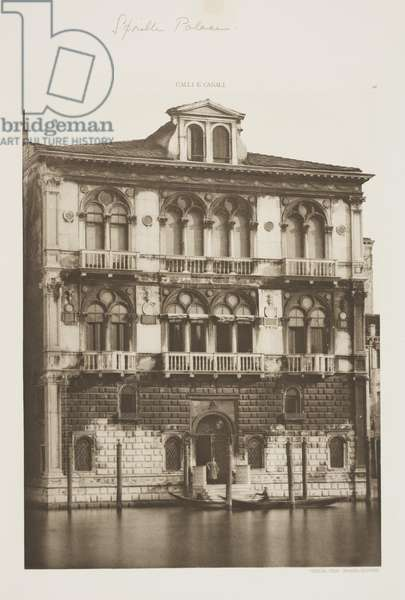 Spinelli Palace, 1891 (photogravure)